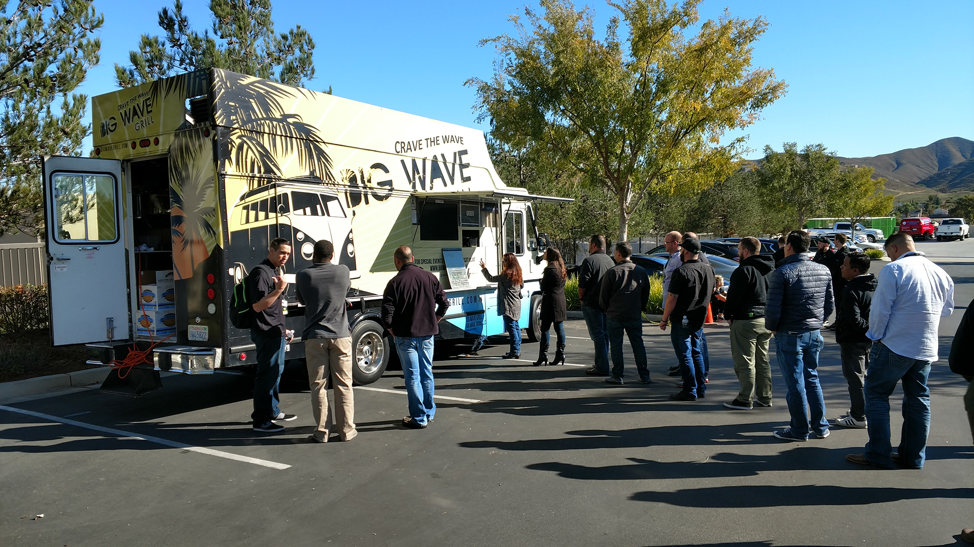 the big wave grill food truck